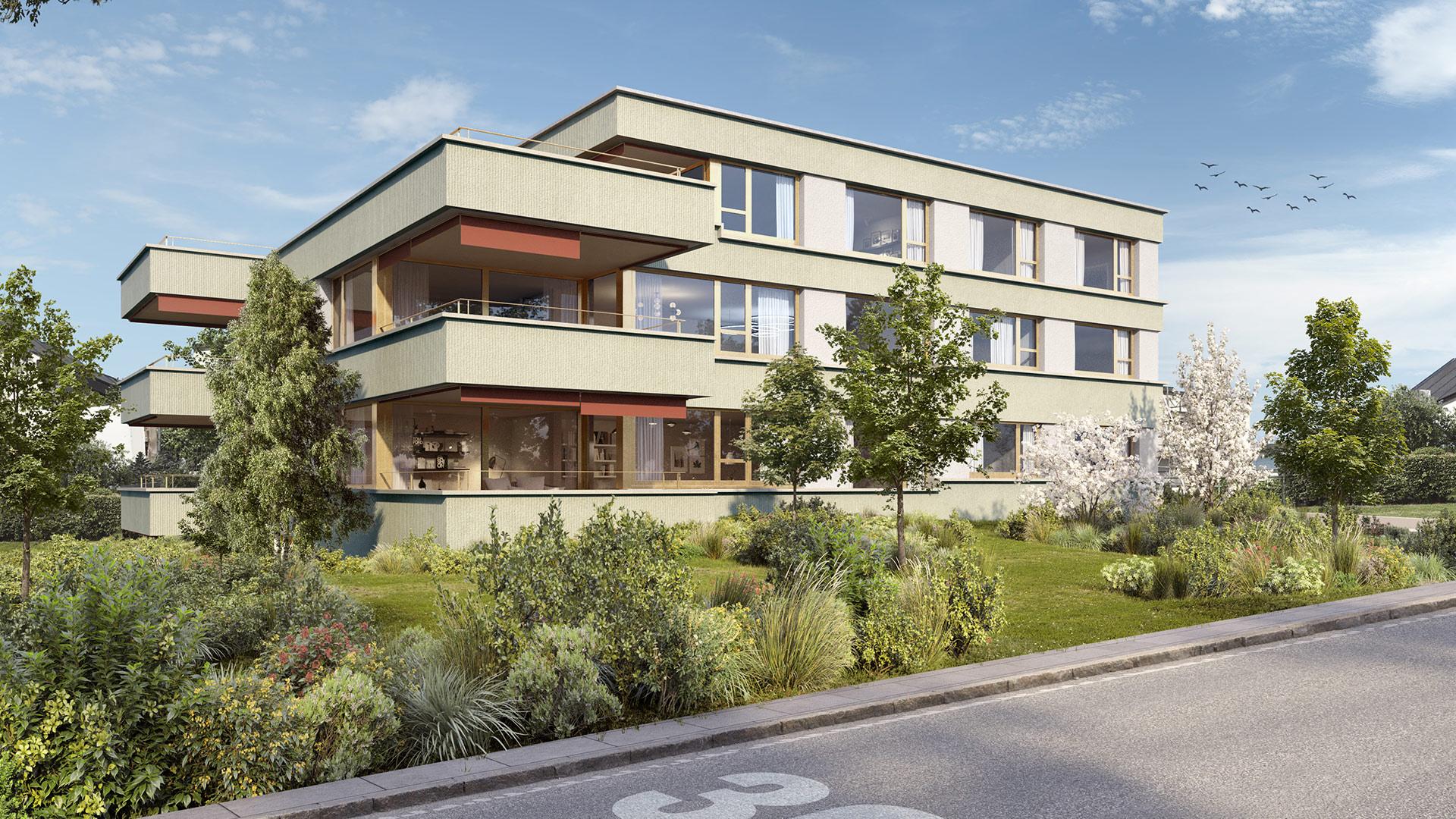 Wohnen im Park Berikon - Wohnung B2