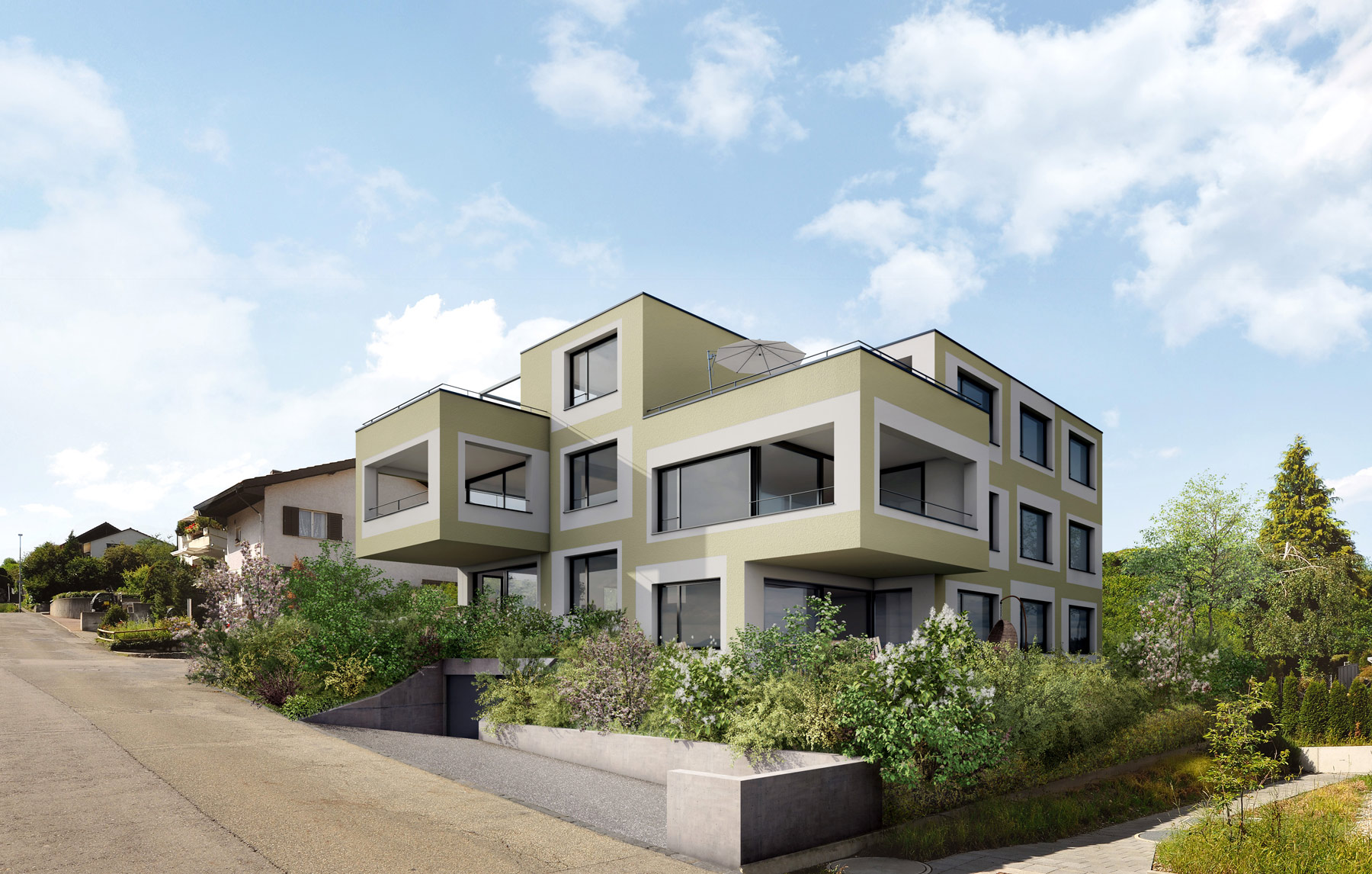 Berg & Tal Ehrendingen - Wohnung EG Berg